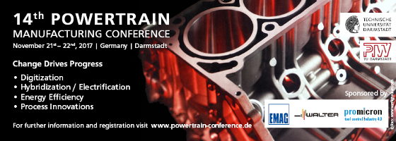 14th POWERTRAIN MANUFACTURING CONFERENCE