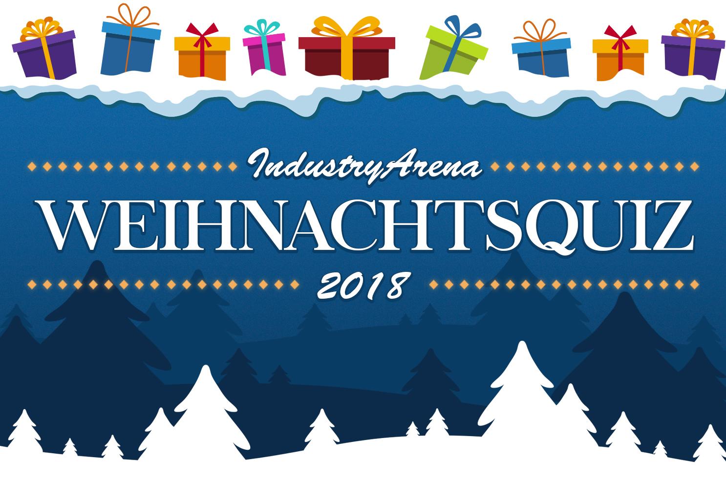 IndustryArena Weihnachtsquiz 2018