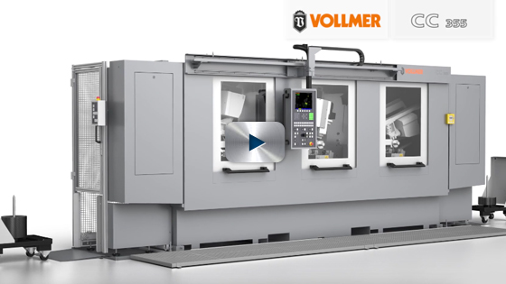 VOLLMER CC 355 Production system