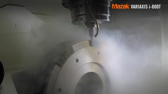 Mazak: Cryogenics technology
