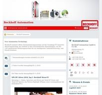 Beckhoff Automation NewsRoom