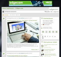 Vero Software - Edgecam NewsRoom