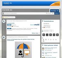 FAUSER AG NewsRoom