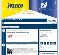 Messeverbund Intec & Z NewsRoom