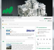 MATSUURA Machinery NewsRoom