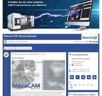 MazaCAM Deutschland NewsRoom