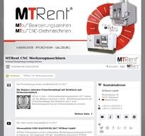 MTRent CNC Werkzeugmaschinen NewsRoom