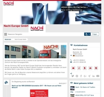 Nachi Europe GmbH NewsRoom