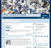 SCHUNK - Gripping and Clamping NewsRoom