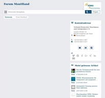Forum MontHand NewsRoom